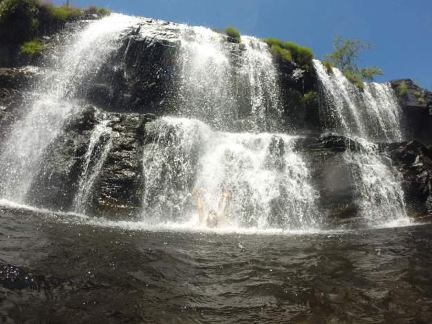 Cachoeira Grande, na Serra do Cipó