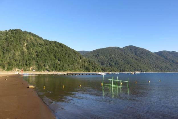 Lago Caburga, em Pucón.