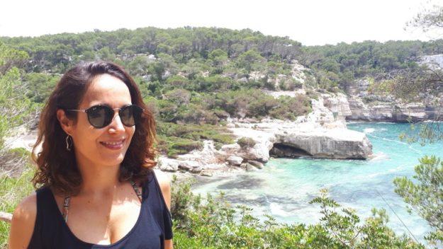 mitjana praia de menorca