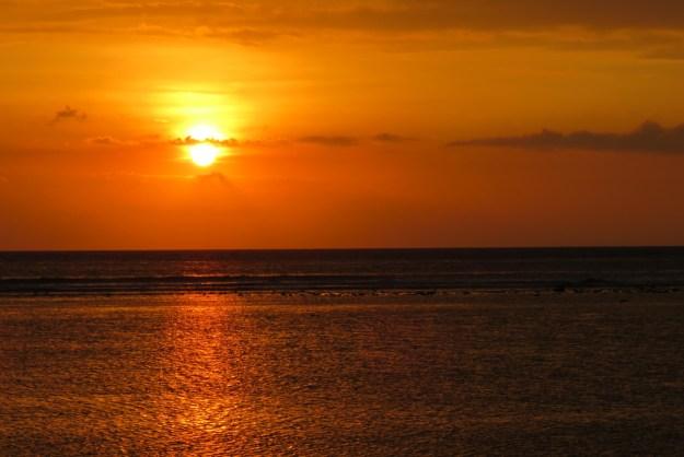 Pôr do sol Gili T