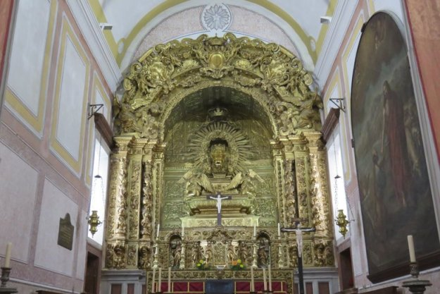 altar de Igrejinha Óbidos