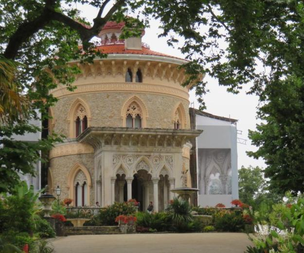 O que fazer em Sintra fachada Palácio de Monserrate