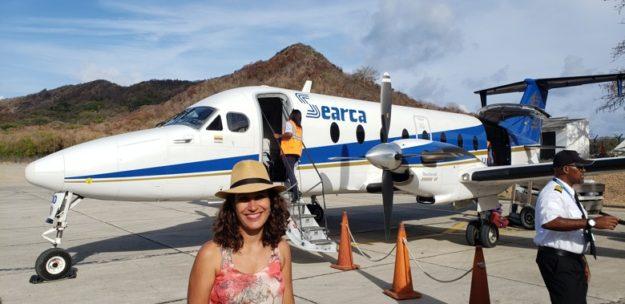 aviao para ilha da providencia