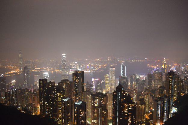 O que fazer em Hong Kong, vista do topo