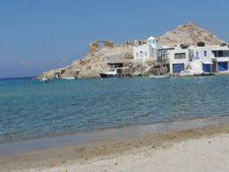 mar firopotamos ilha de milos grecia