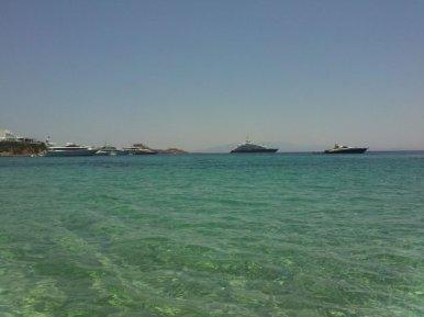 Mykonos, Grécia, Psarou