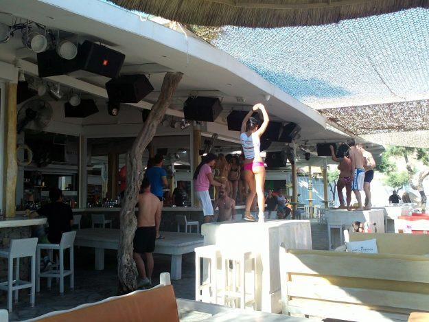 Mykonos, Grécia, boate