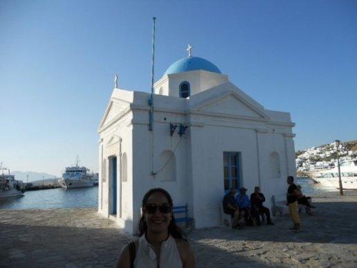 Mykonos, Grécia, igrejas