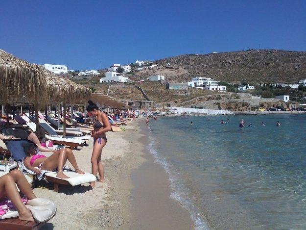 Mykonos, Grécia, Ornos