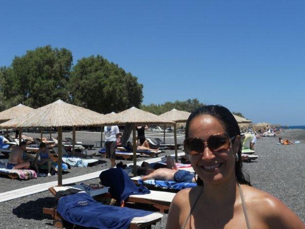 O que fazer em Santorini, Kamari