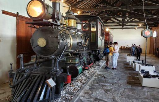 trem museu ferroviário o que fazer em São João del Rei