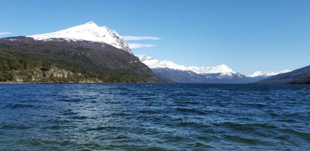 lago roca parque nacional tierra del fuego