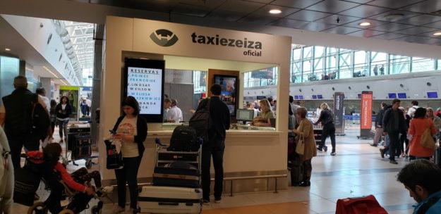 táxi ezeiza transfer entre aeroportos buenos aires