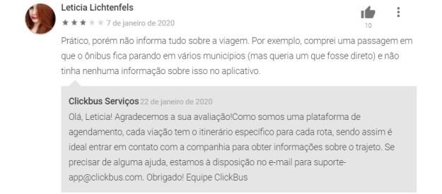 depoimento app clickbus é confiável