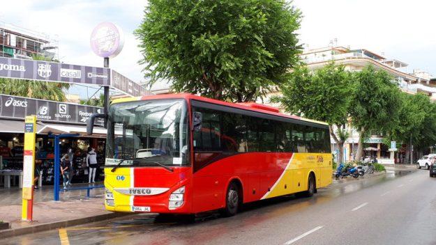 ônibus mallorca espanha