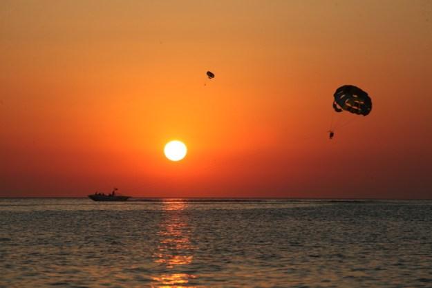 parasail por do sol mar o que fazer em ibiza