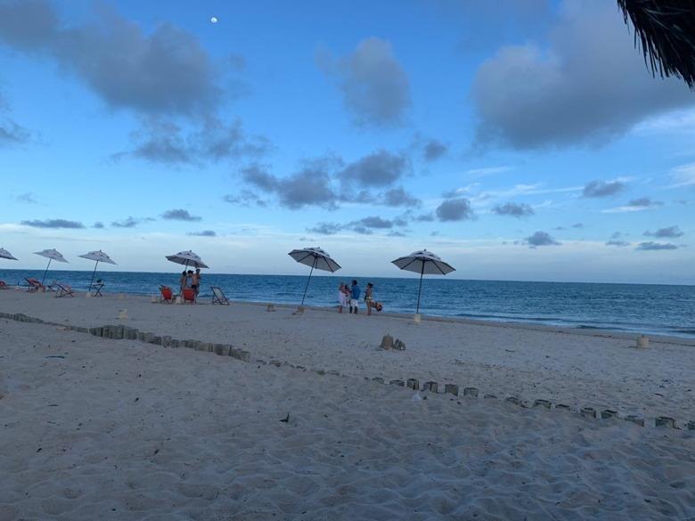 o que fazer em fortim jaguaribe vista da praia