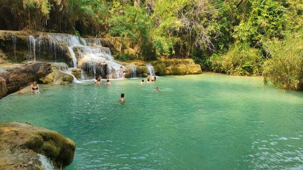 cachoeira o que fazer em luang prabang