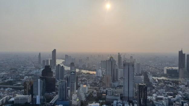 bangkok vista cidade seguro viagem tailândia