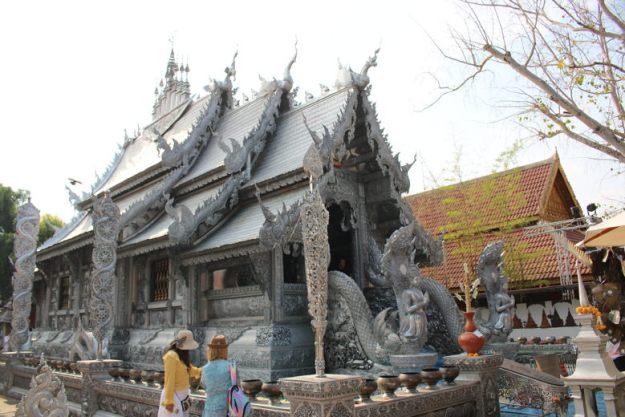 o que fazer em chiang mai templo de prata