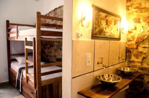 quarto pousada villa chic onde ficar em jericoacoara