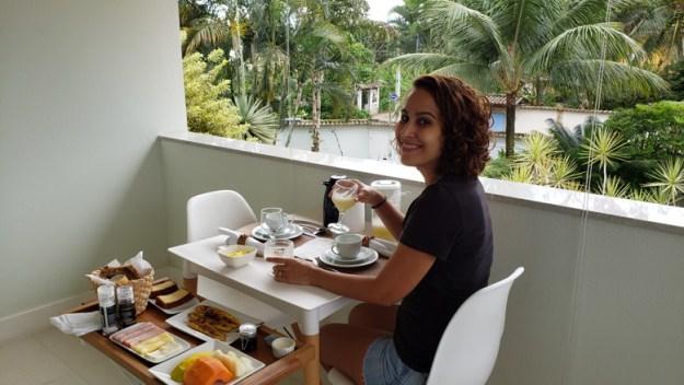 café da manhã varanda maris paraty