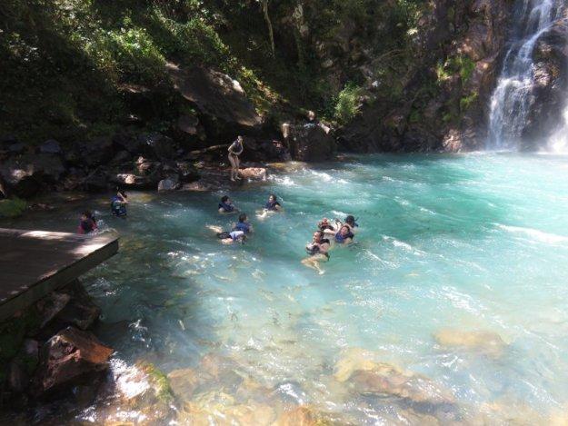 passeios em nobres cachoeira serra azul
