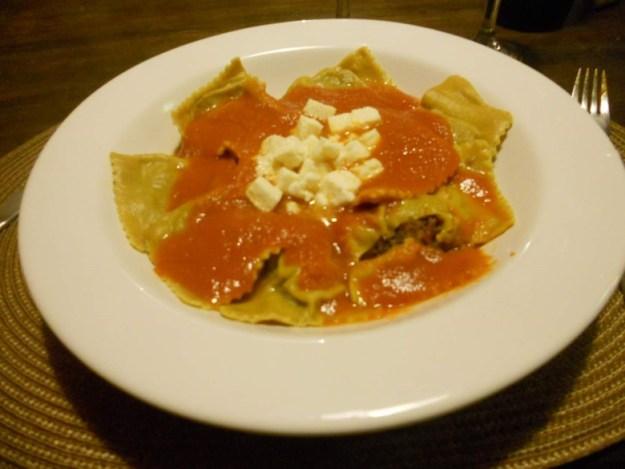 restaurantes em lencois cozinha aberta slow food ravioli