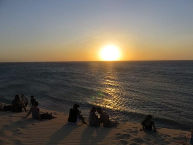 roteiro de praias no ceara duna por do sol jericoacoara
