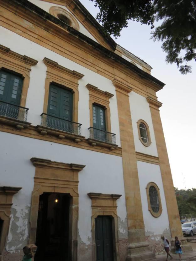igreja da matriz centro histórico de paraty
