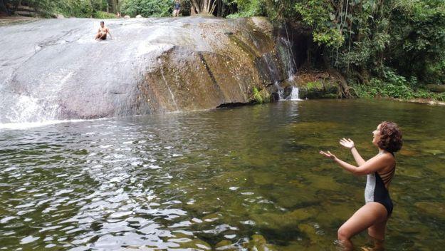 cachoeira tobogã cachoeiras em paraty