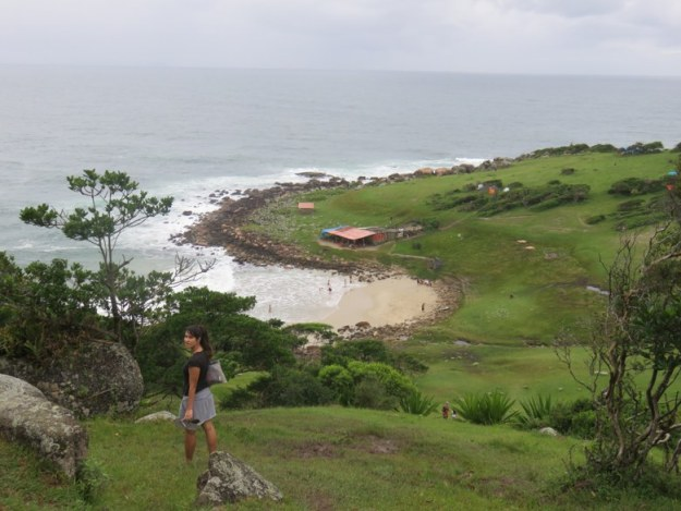 praias do sul de santa catarina vista praia do maço