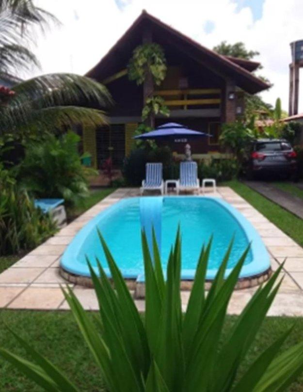 jardim piscina casa amarela casas para temporada em porto de galinhas