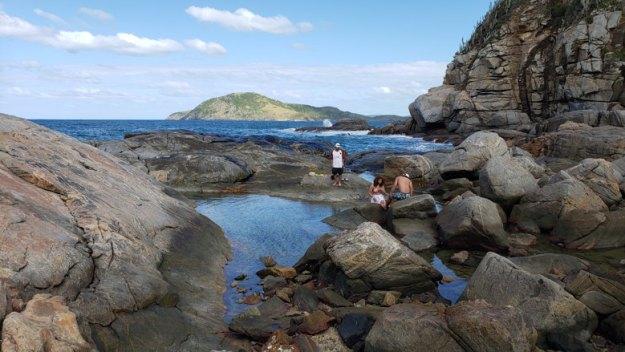 piscininha praia das conchas