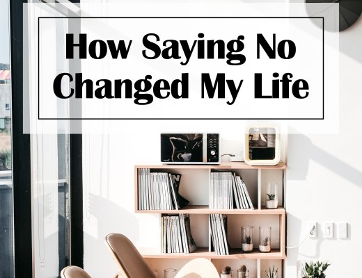 Saying No Changed My Life