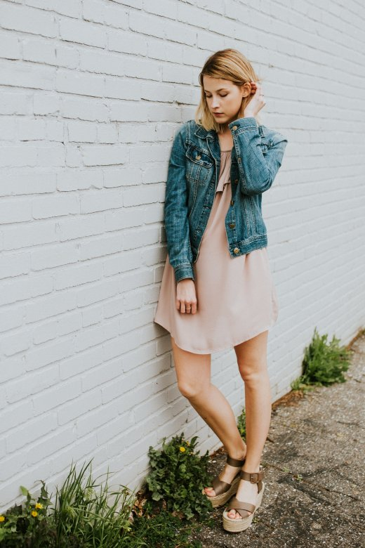 Denim Jacket Summer Staple - www.viciloves.com - @viciloves1