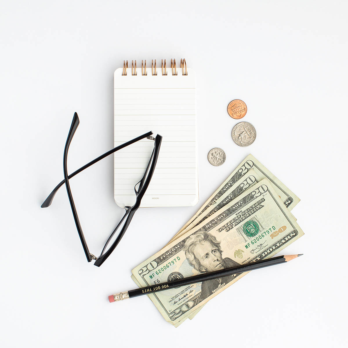 3 Tips to Prepare for No Spend Month featured by top US life and style blog, VICILOVES