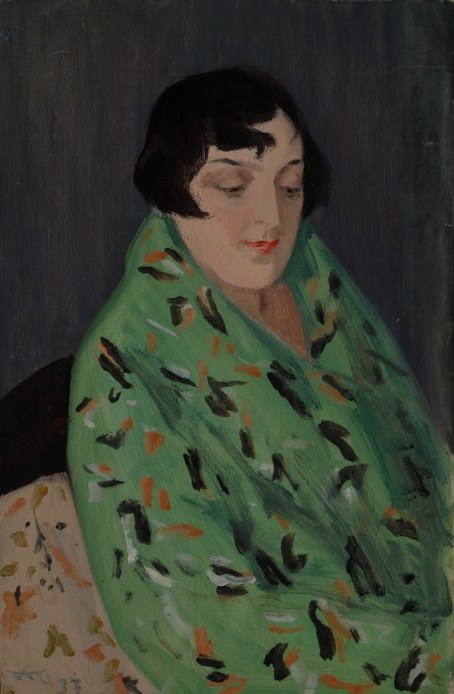 Grinberg_Portrait of his Wife