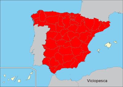 mapa carpin comun