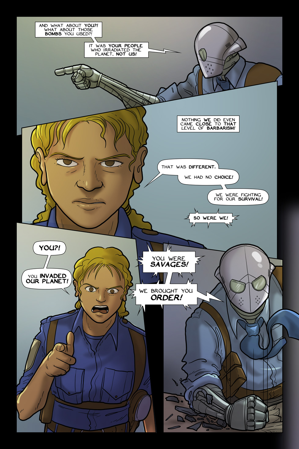 A Death at the Gates of Heaven – Page 8