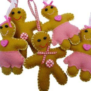 Cute Gingerbread Decorations