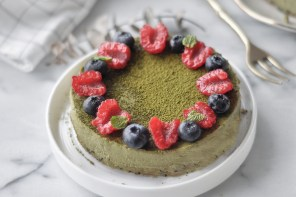 [Recipe] Matcha (Green Tea) Cheesecake