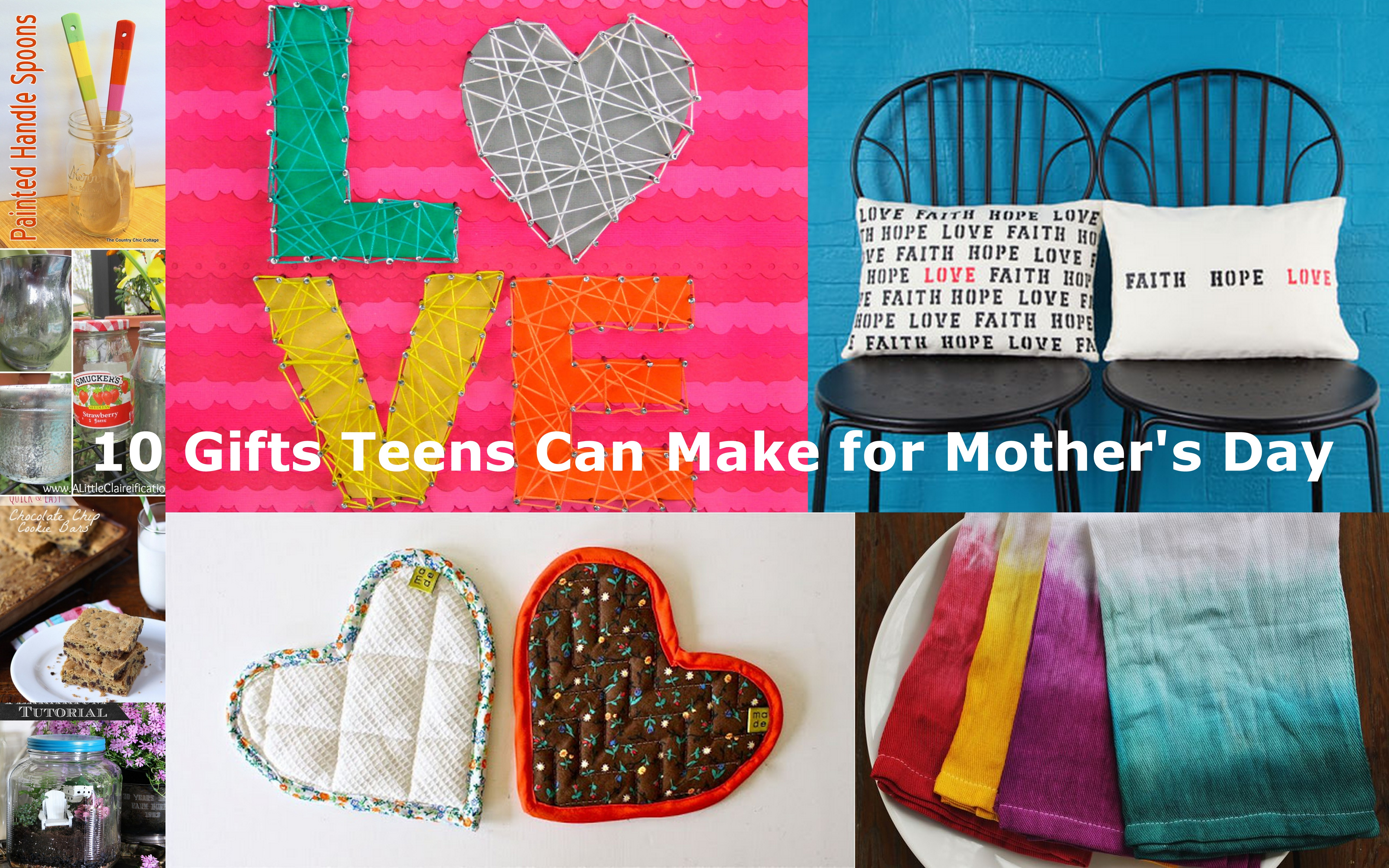 10 gifts teens can make for mother 39 s day vicki odell for Craft ideas for teens