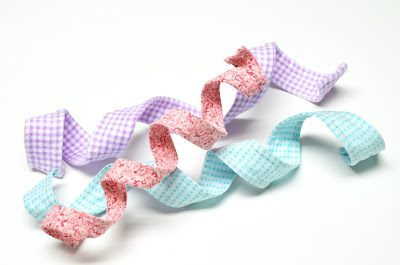 Making Wired Fabric Ribbon 7