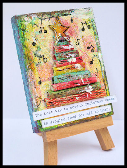 Fabulous Friday 11 Mini Canvas Art Ideas • Vicki O'Dell