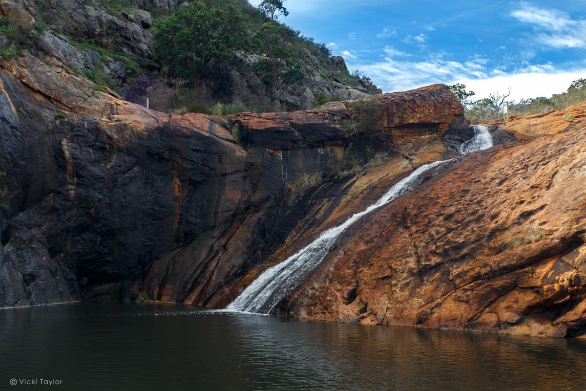 Serpentine falls