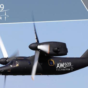 The AW609 tiltrotor speed record