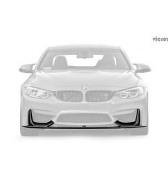 vicrez bmw m3 f80 m4 f82 f83 2014 2018 vz carbon fiber front lip vz100412 [ 1500 x 1500 Pixel ]