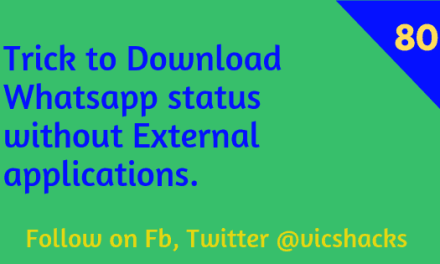 Trick to download Whatsapp Status without any third party Applications in Android smartphones