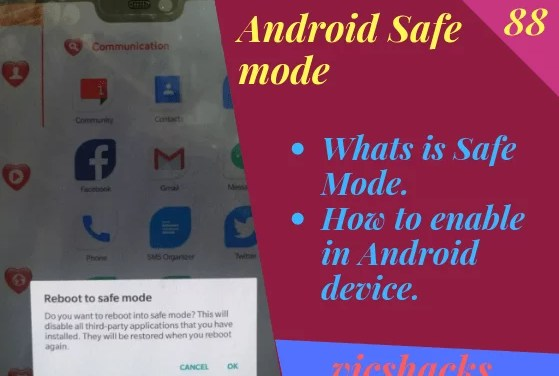 How to Reboot Android Smartphone in Safe Mode